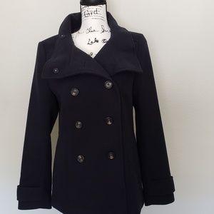 H&M Jackets & Coats - H&M Peacoat Navy
